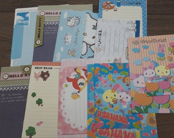 Kawaii stationary, lettersets, cute lettersets, kawaii