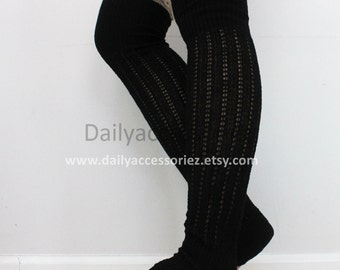 spring sale black womens leg warmers, lace leg warmers, leg warmers adult, boot socks, for girls, for women, for her, for mom