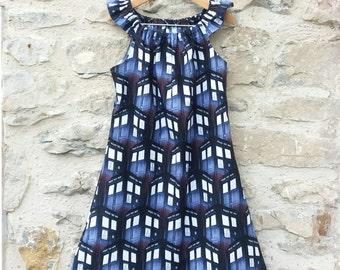 Doctor Who Tardis Play Dress