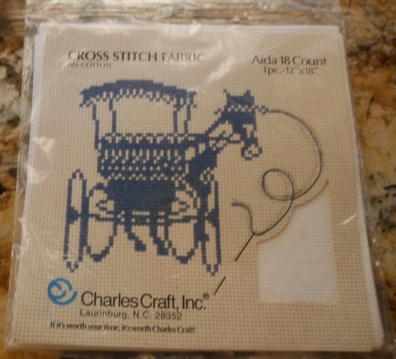 18 count charles craft all cotton aida cross stitch fabric for Charles craft cross stitch fabric