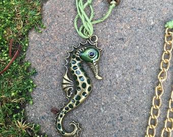 Friendly Seahorse Necklace