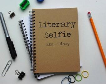 Literary Selfie-   5 x 7 journal