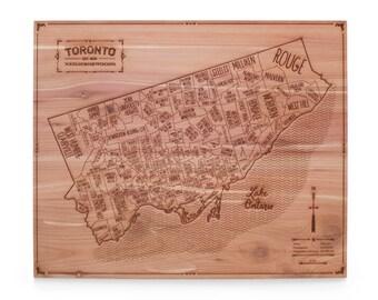 Toronto Wall Map