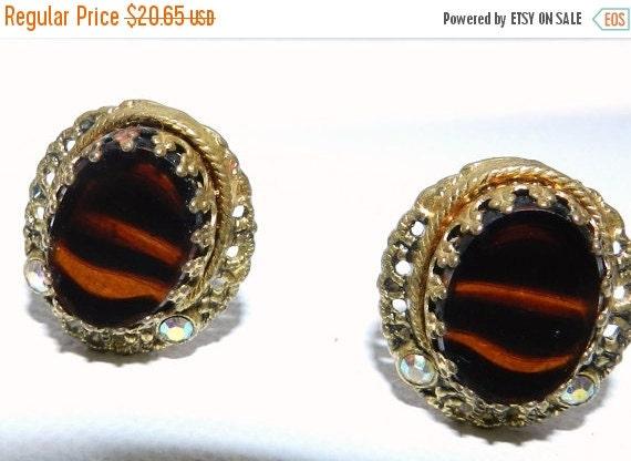 black friday sale vintage western germany earrings by jeweledluv. Black Bedroom Furniture Sets. Home Design Ideas