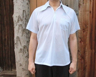 Ultra Wing Tip Short Sleeved Poly Shirt