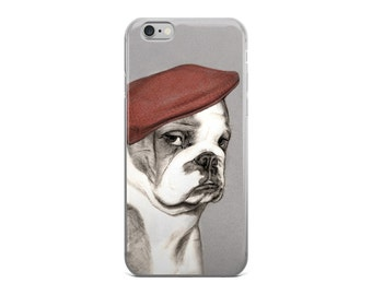 Bulldog cell phone case, english bulldog phone case for iPhone 5, iPhone 5S, iPhone 5 SE, iPhone6/ 6S, iPhone6 / 6S Plus, dog cel phone case