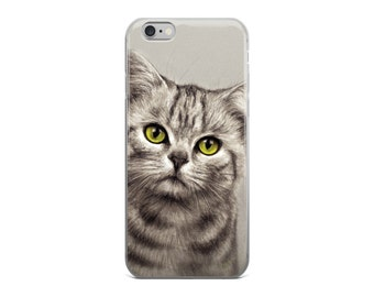 Cat cell phone case, cat phone case for iPhone 5, iPhone 5S, iPhone 5 SE, iPhone6/ 6S, iPhone6 / 6S Plus, kitten cel phone case, iphone case