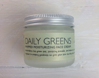 Daily Greens Face Moisturizer, Green Tea Moisturizer, Face Cream,  2oz