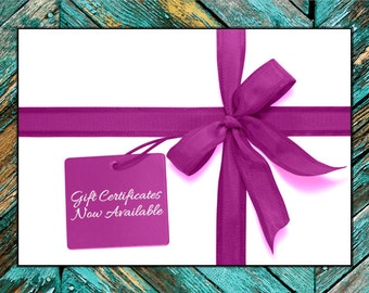 OwlLuvU4Evr Gift Certificate - Baby Shower Gift, New Baby, Any Occasion Gift