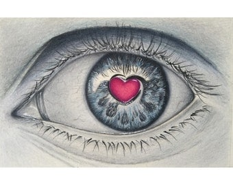 Colored pencil drawing eye,eye drawing,pencil art,eye art