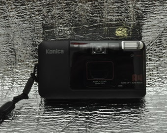 Konica A4 Point and Shoot Camera