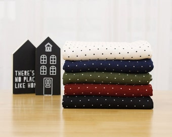 kddm Double 100% Cotton Gauze Fabric Baby clothing Gauze Printed Muslin_3mm dot_CH976991