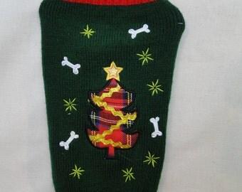 Ugly Dog SweaterSize Small Christmas Party Dog Costume
