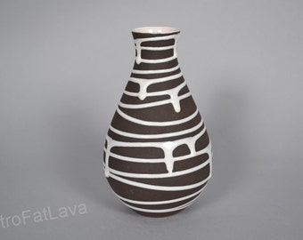 West Germany vase by Schlossberg decor Roulette - 154-17