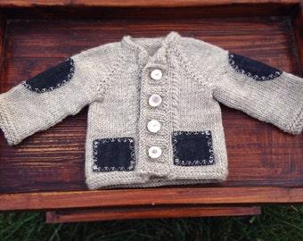 Birch Sweater. Sized 0-3 Months