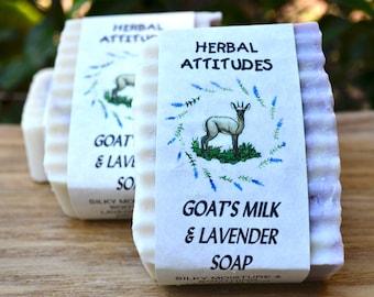 Goat's Milk & Lavender Soap