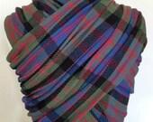 Handwoven Wrap- MacDonald Tartan 3.6m