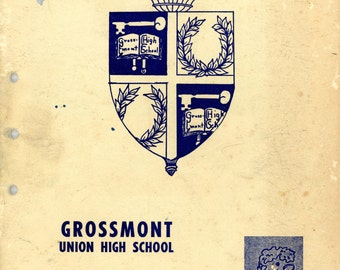 "1950 ""Grossmont High School Student Handbook"""
