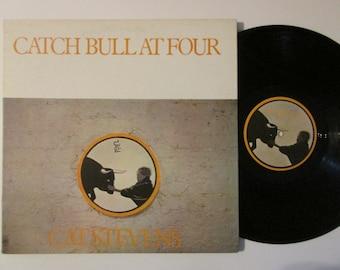 Vinyl Record Cat Stevens Catch Bull At Four Vintage Vinyl Record LP