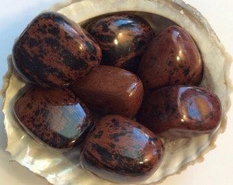 Mahogany Obsidian Gemstone, Spiritual Stone, Healing Stone, Healing Crystal, Chakra