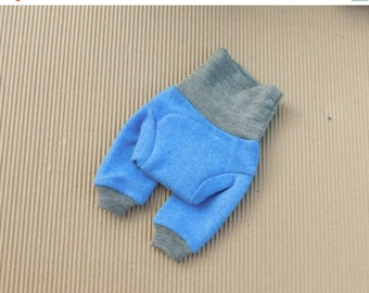 SALE FOR AUTUMN Cashmere wool longies Ready To Ship, newborn wool longies, newborn cloth diaper wool cover, newborn size,