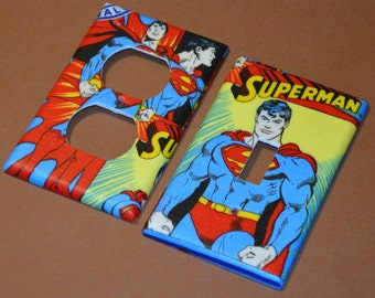 Itu0027s Superman Light Switch Covers Outlet Covers