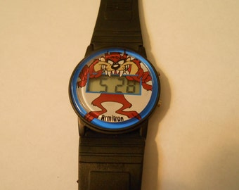 armitron tazmanian devil watch