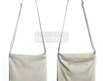 Canvas Sling Bag, Canvas Bag, Canvas Bag Souvenir, Canvas Favor Bag, Canvas Bag with Pocket, Canvas Bag with adjustable Strap, DIY