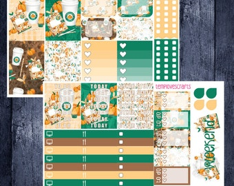 Pumpkin Spice and Everything Nice Kit for Happy Planner