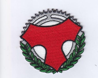 Tomassini bicycle patch, New. classic cycling patch