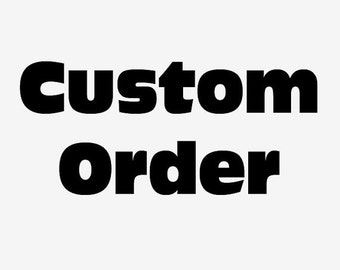 Customize Pattern & Font Extra Custom Cost Will be Charge 3 US Dollar