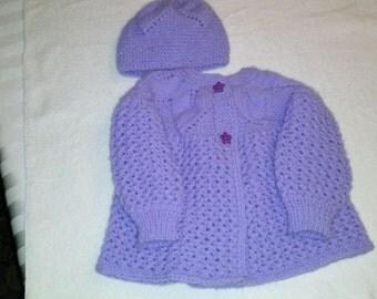 Leaf Infant Jacket and Cap