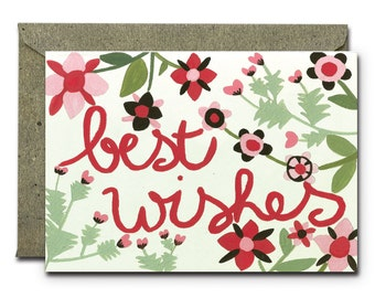 Best Wishes - Greeting Card