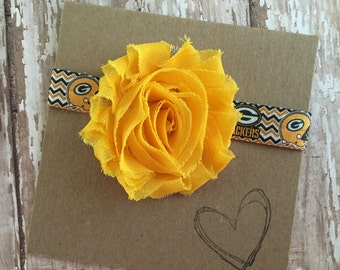 GB Packers Headband, Football, Baby Headband
