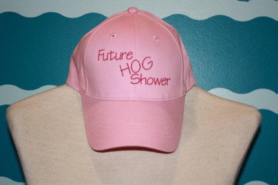 Youth Embroidered baseball hat - future hog shower baseball hat - custom embroidered youth hat - custom stitched hat - livestock shower -pig