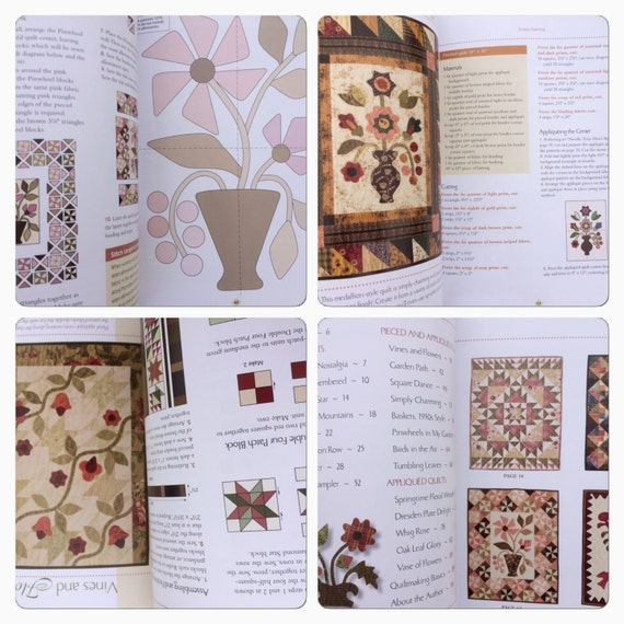 Book Cover Sewing Quarters ~ Fat quarter quilting soft cover book lori smith sewing