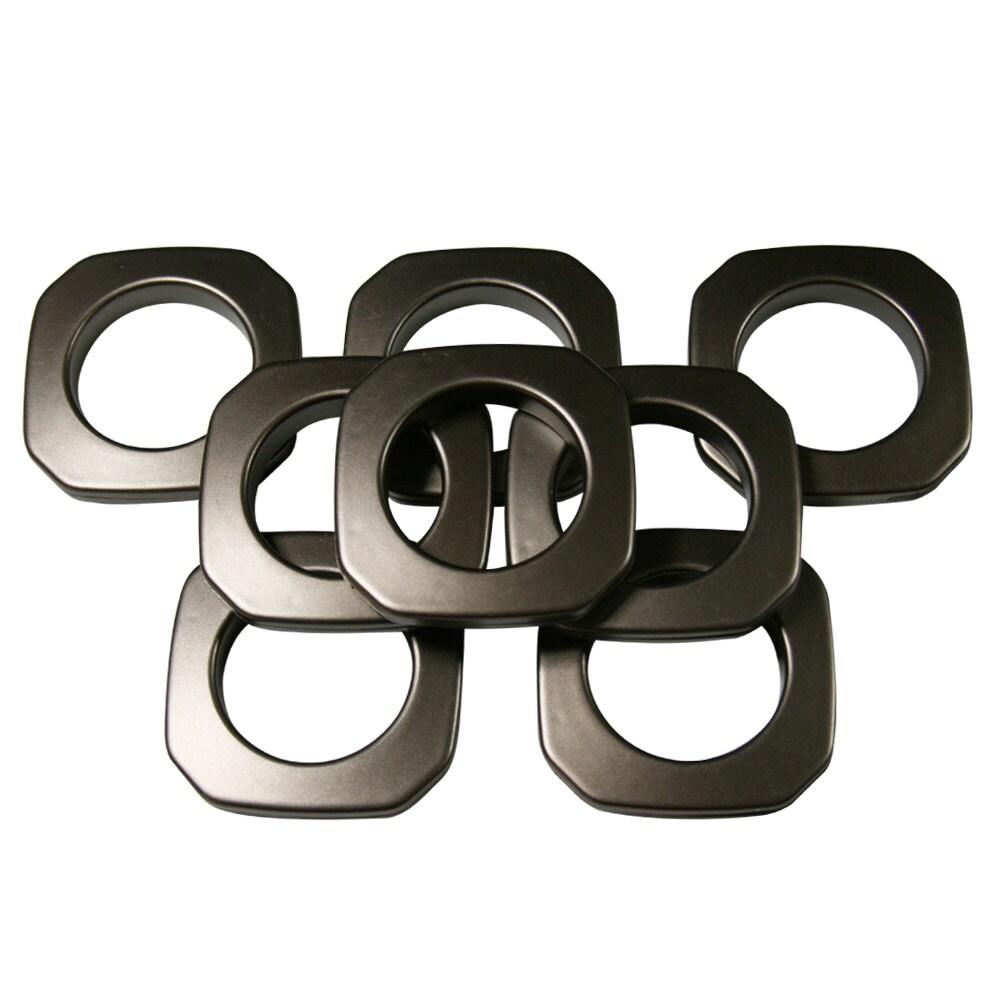 8 1 3/8 10 Antique Copper Square Plastic Grommets