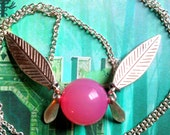 GOING OUT of BUSINESS--40% off Legend of Zelda-inspired healing fairy necklace