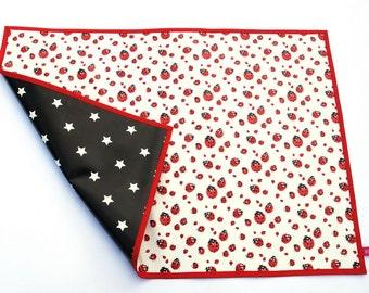 Time base / desk pad / oilcloth placemat oilcloth