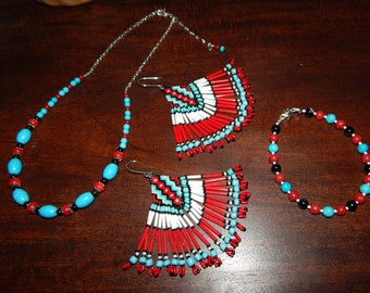 Beautiful Native American Jewelry Set