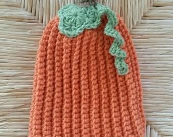 Baby Crochet Pumpkin Hat