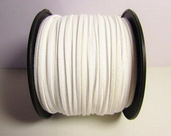 D-02691 - 2 m  Faux suede white