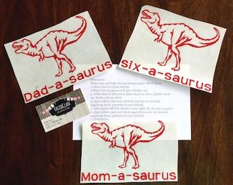 Trex t shirt decal, Dinosaur birthday shirt, dinosaur birthday, trex shirt, t rex t shirt, t rex shirt, two a saurus t shirt decal, trex