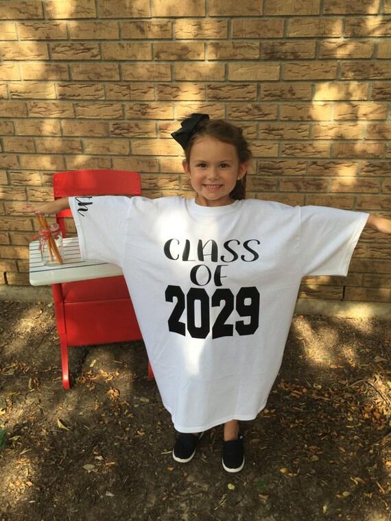Grow With Me Graduation Shirts for Kids