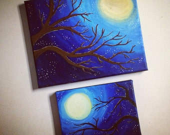 Full Moon, Starful Night
