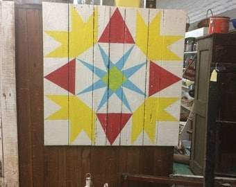 Reclaimed Wood Barn Quilt