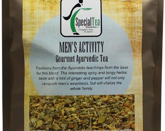 Mens Activity Ayurvedic Gourmet Tea - 20 Tea Bags
