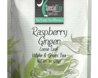 1 oz. Raspberry Ginger White Tea