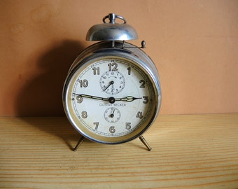 Rustic Alarm Clock Etsy