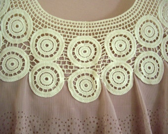 Anthropologies' Pink Top, Size S